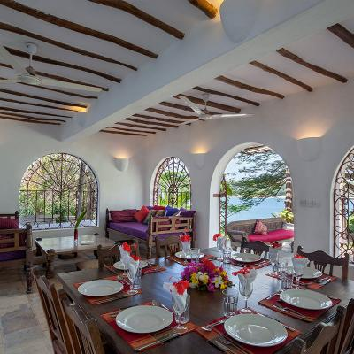 Mdoroni Behewa House Coastal Kenya Dining A