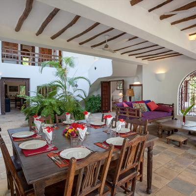 Mdoroni Behewa House Coastal Kenya Dining B