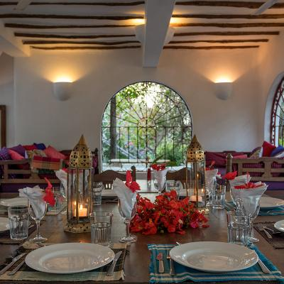 Mdoroni Behewa House Coastal Kenya Dining Candles 5